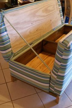 Make your own couch - cheap and... BLANKET BOX. My mind is completely blown. For real.: