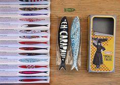 """Pop Art: """"Sardinhas"""", by Bordallo Pinheiro, portuguese imagery #sardines"""