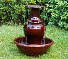 Zarita Ceramic Water Feature - GardenSite.co.uk