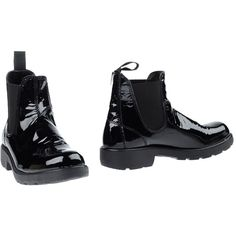 Gei Gei Ankle Boots ($89) ❤ liked on Polyvore featuring shoes, boots, ankle booties, black, black leather bootie, short black boots, leather chelsea boots, black ankle booties and black bootie