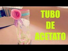 Caja de regalo||Acetato y Tapa||La Chica Creativa - YouTube