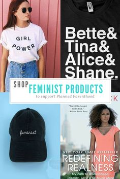 Can't make the Women's March on Washington? Shop this guide to support Planned Parenthood. Via DopesontheRoad.com