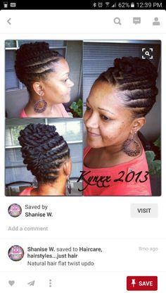 Natutal Hair styles