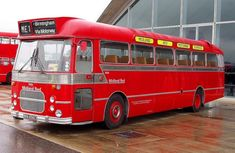 Blue Bus, Red Bus, Tow Truck, Trucks, Bedford Buses, American Air, Airplane Photography, Bus Coach, Express Coaches