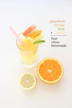 Four Citrus Lemonade - Delia Creates