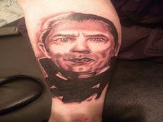 10 Devastating Dracula Tattoos - http://slodive.com/tattoos/10-devastating-dracula-tattoos/