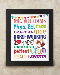 Hey, I found this really awesome Etsy listing at https://www.etsy.com/listing/204769715/gym-teacher-physical-education-teacher