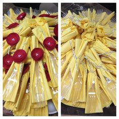 Yellow napkins!!! Beauty and the beast party !!! Yellowparty#princessparty#belle#girlparty#yellownapkinks