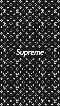 Supreme iphone wallpaper, white wallpaper for iphone, lit wallpaper, black