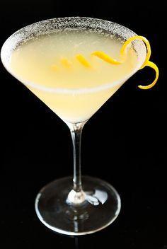 Lemon Drop Martini drinks