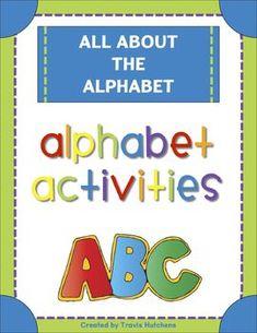 All About The Alphabet: Alphabet Activities Freebie