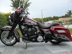Harley-Davidson : Touring CUSTOM BUILD 2012 HARLEY DAVIDSON STREETGLIDE, SHOWROOM CONDITION -Nice bike! :)