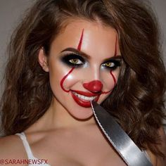 Easy Halloween Makeup Ideas to Have Fun with Friends ★ See more: https://makeupjournal.com/easy-halloween-makeup-ideas/ #makeup #makeuplover #makeupjunkie