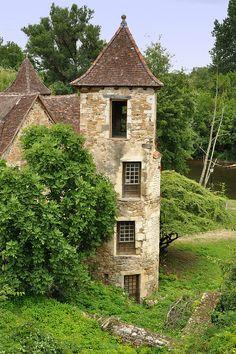 Carennac dans le Lot  est l'un des plus beaux villages de France