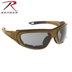 34ead81a03 Coyote Brown Interchangeable Sunglasses to Goggles Tactical Optical System