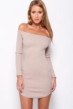 Stranded Dress, Coffee, $55 + Free express shipping http://www.hellomollyfashion.com/stranded-dress-coffee.html
