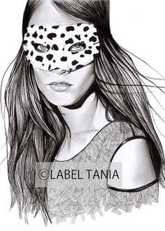 Art   Label Tania