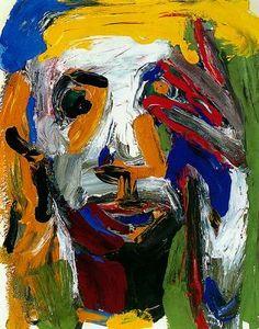julieswindel: David Park : Man with Yellow Hair.