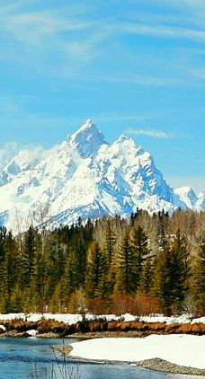 Jackson Hole, Wyoming, USA. I want to go see this place one day. Please check out my website thanks. www.photopix.co.nz