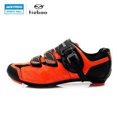 TIEBAO Men Athletic Cycling Shoes Road Bike Shoes Bicycle Shoes Calzado  Ciclismo Shoes Cycling Men Zapatilla 1c53050b440