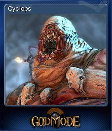 Cromo de Steam «Cyclops» de God Mode