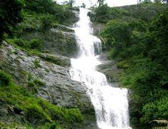 Valara Falls, Munnar, Kerala, India.