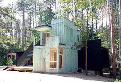 weehouse modular prefabricated green homes via Dornob