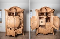 superbe armoire scarabee 2   Une superbe armoire scarabée   scarabee photo meuble Janis Straupe image coleoptere armoire