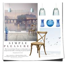 """Simple Decor"" by alynncameron ❤ liked on Polyvore featuring interior, interiors, interior design, maison, home decor, interior decorating, H&M, Milton & King, Brucs et Artecnica"