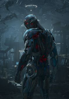A great look to Ultron.   The threat of Avengers Age Of Ultron, May 1