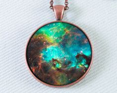 Astronomy Necklace Outer Space Jewelry Galaxy Star от 162PENS