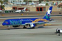 "America West Airlines, Boeing 757-225, Phoenix - Sky Harbor International, Arizona, January 9, 2007, N915AW, ""Nevada"", Felix Gottwald"