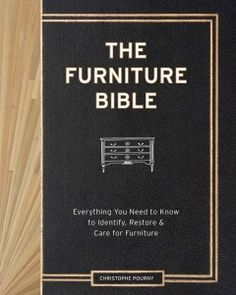 A comprehensive guide to restoring, preserving and refinishing furniture draws on the author's experience as the son of a French atelier to outline such step-by-step techniques as ceruse, vernis anglais and water gilding