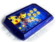 I always love these custom arcade sticks, this one took my eye from the joystick vault by user based on the capcom character ser. Arcade Joystick, Stick Art, Game Room, Sticks, Cabinets, Video Games, Gaming, Buttons, Eye