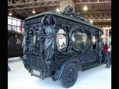 Old hearse. One ride most folk only want to take once, and as late as possible.