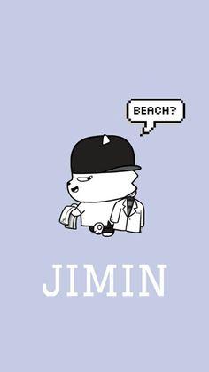BTS 방탄소년단 - JIMIN - WALLPAPER
