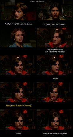That 70s Show - thoughts of hyde jakie donna fez eric ... Leo That 70s Show Man