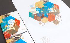ESAM Caen / Cherbourg by Murmure in Showcase of Creative Brochure Print Designs