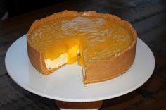 Lemon & mango cheesecake [Chelsea Winter, MasterChef NZ]