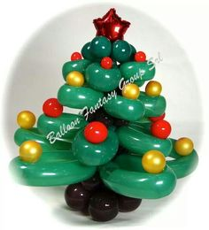 Christmas Tree Twist Balloon