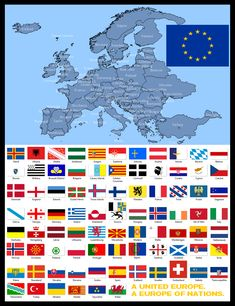 A mapping exercise around a federalized Europe that somehow adopted a maximalist stance regarding stateless nations, independently of current feelings a. Federal Europe of the Peoples Alternate Worlds, Alternate History, Flags Of The World, Countries Of The World, Imaginary Maps, Fantasy Map, Flag Design, World History, Coat Of Arms