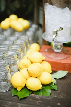 Summers coming, put out the masons and the lemons!