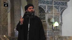 Abu Bakr al-Baghdadi: ISIS leader appears in his first video sermon