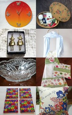 Springtime findings xx by caroline pallett on Etsy--Pinned with TreasuryPin.com
