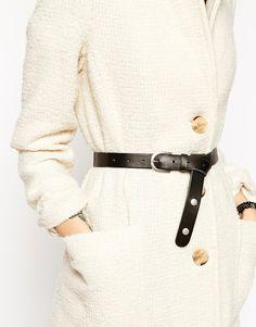 Image 3 ofASOS Leather Boyfriend Waist And Hip Belt