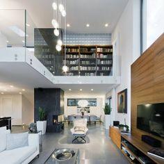 Home designed by Sandor Duzs and Architema