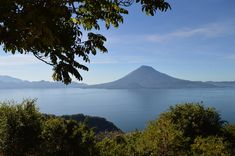 Lovely Lake Atitlan, Guatemala - as snapped on a G Adventures tour: 'The Mayan Trail'.