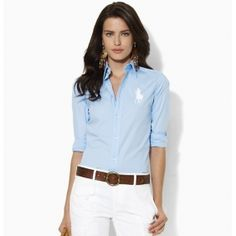 Wholesale Polo Ralph Lauren Womens Cotton Shirt