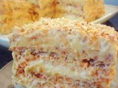 Egyptský křupavý koláč