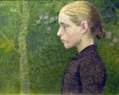 Aristide Maillol (France 1861-1944) Buste de jeune paysanne (1891) Post Impressionism, Impressionist, Fauvism, Classical Art, Portraits, French Artists, Girl Face, Great Artists, In This World